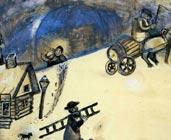 Invierno (1912) - Marc Chagall