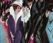 Escena de la calle 19 (1913-1914) -  Ernst Ludwig Kirchner