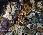 Los amigos (1917-1918) Oskar Kokoschka