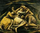 Hombres durmiendo (1919) - Schafende Menscen