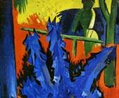 Tulipanes a la ventana (1922) - Karl Schmidt-Rottluff