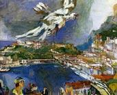 Monte-Carlo (1925) - Oskar Kokoschka