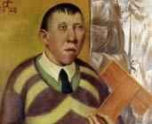 Retrato de Franz Radziwill (1928) - Otto Dix