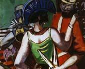 Mardi gras parisino (1930) - Max Beckmann