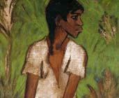 Mujer gitana (1930) - Otto Mueller